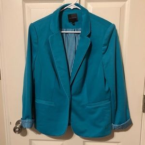 The Limited Teal Blazer